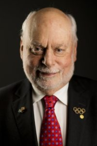 A color photo of Fraser Stoddart, Nobel Prize winner in chemistry and professor at UCLA.
