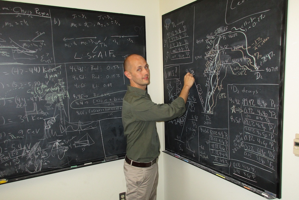 Eric Hudson, UCLA professor of physics and astronomy