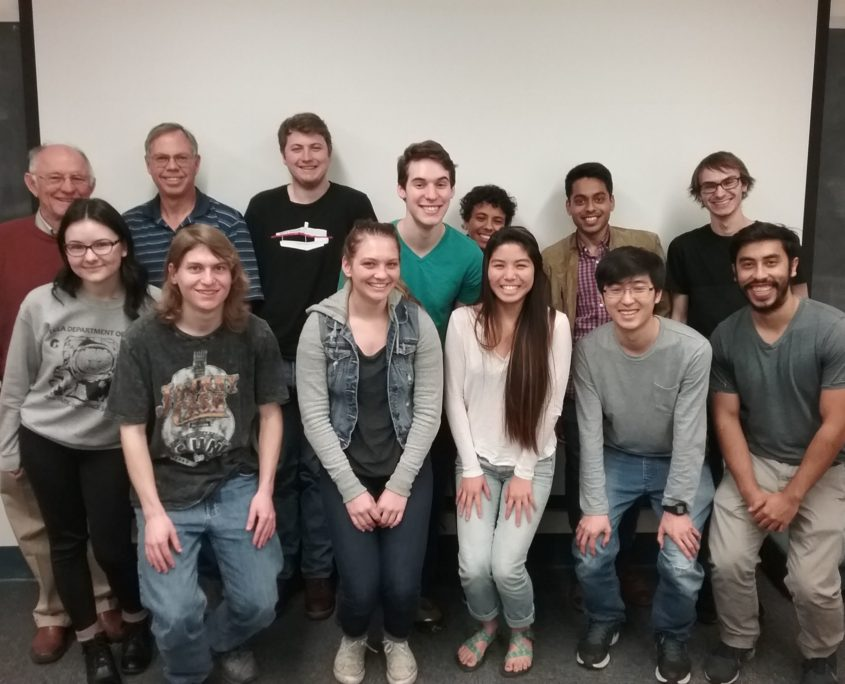 Photo of students and faculty of an EPSS class