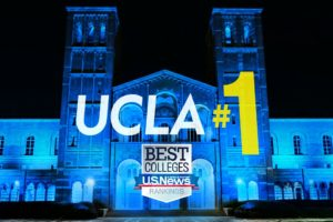 UCLA #1 on Royce Hall