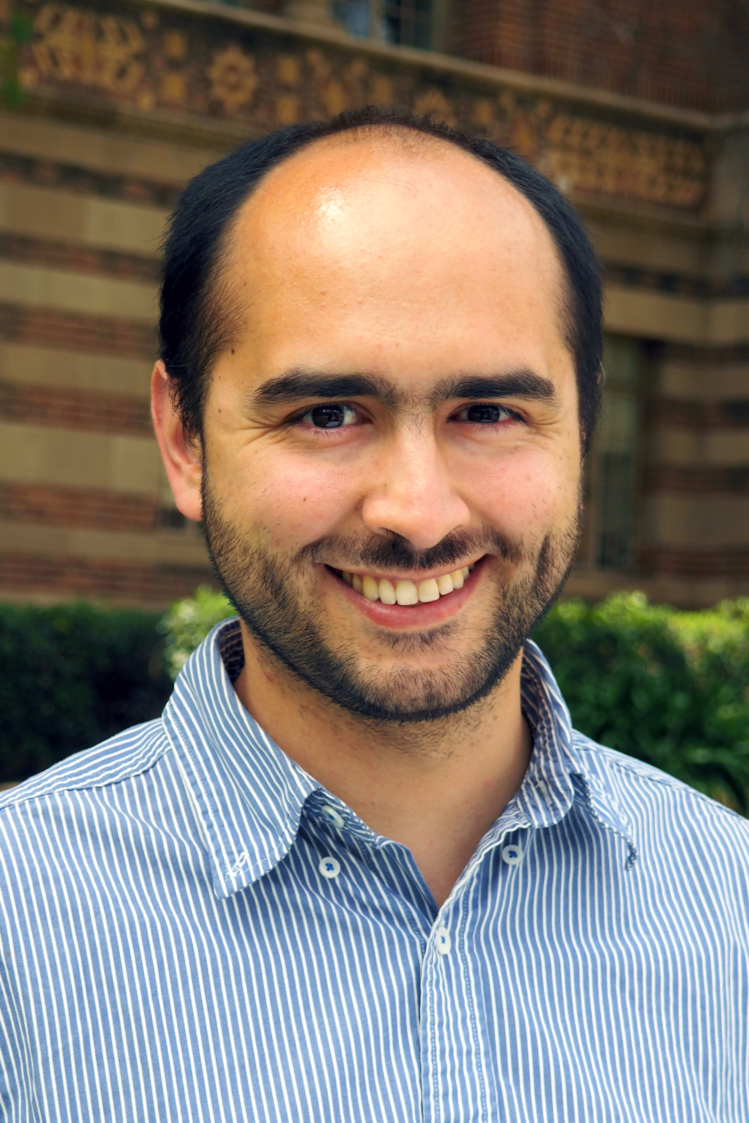 UCLA Assistant Professor of Atmospheric and Oceanic Sciences Pablo Saide