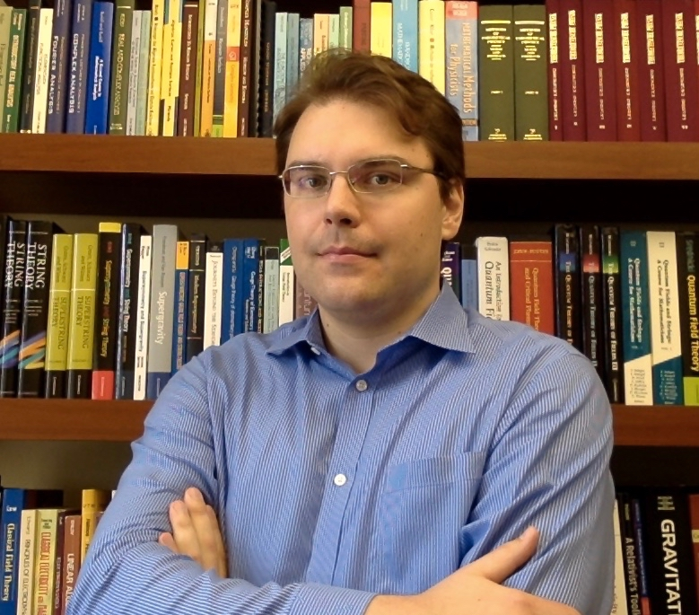 Assistant professor of physics and astronomy Thomas Dumitrescu